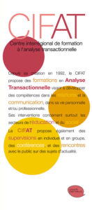 Programme CIFAT formations analyse transactionnelle 2018